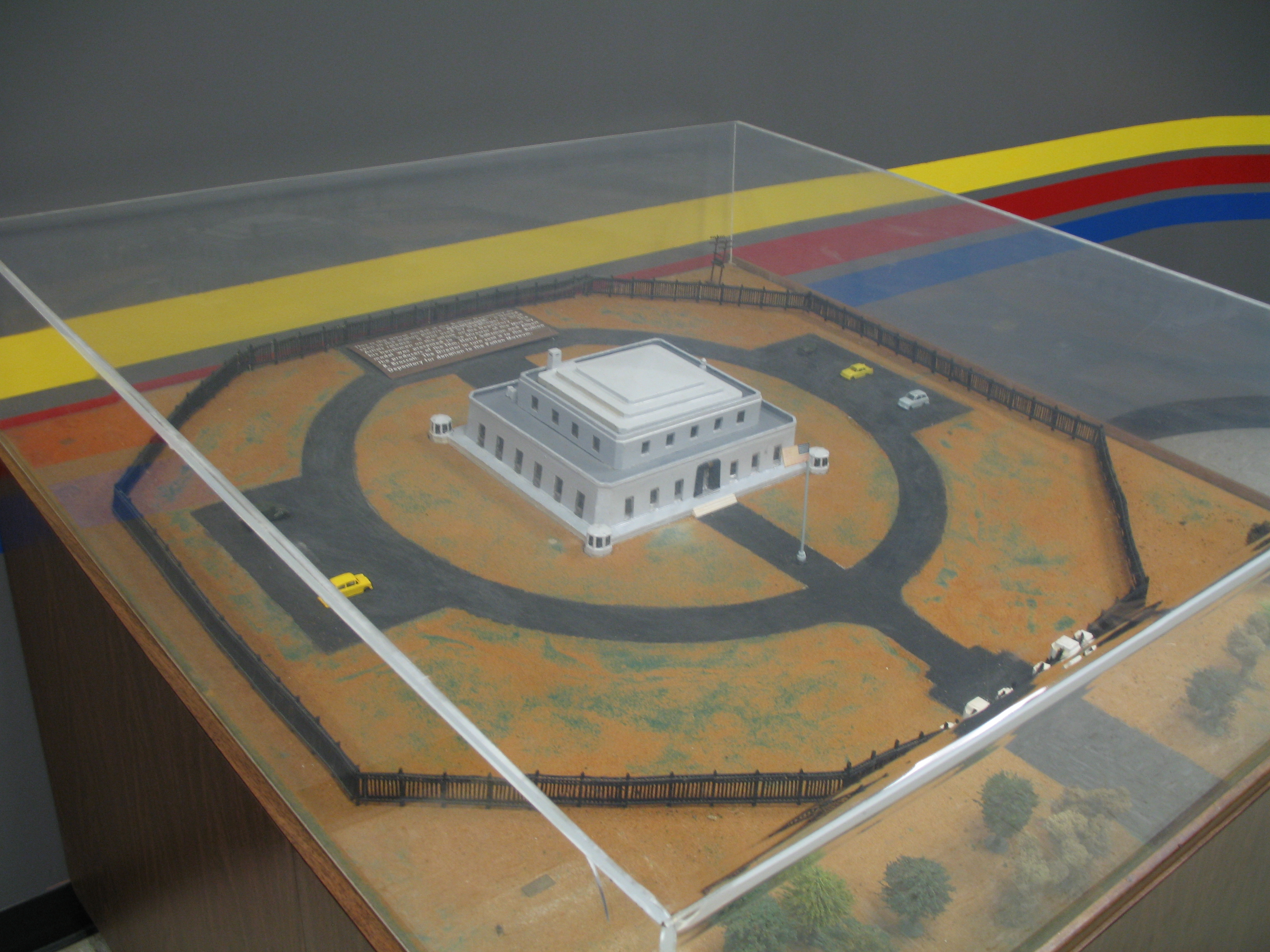 the model of fort knox that was used in the movie quotgoldfingerquot